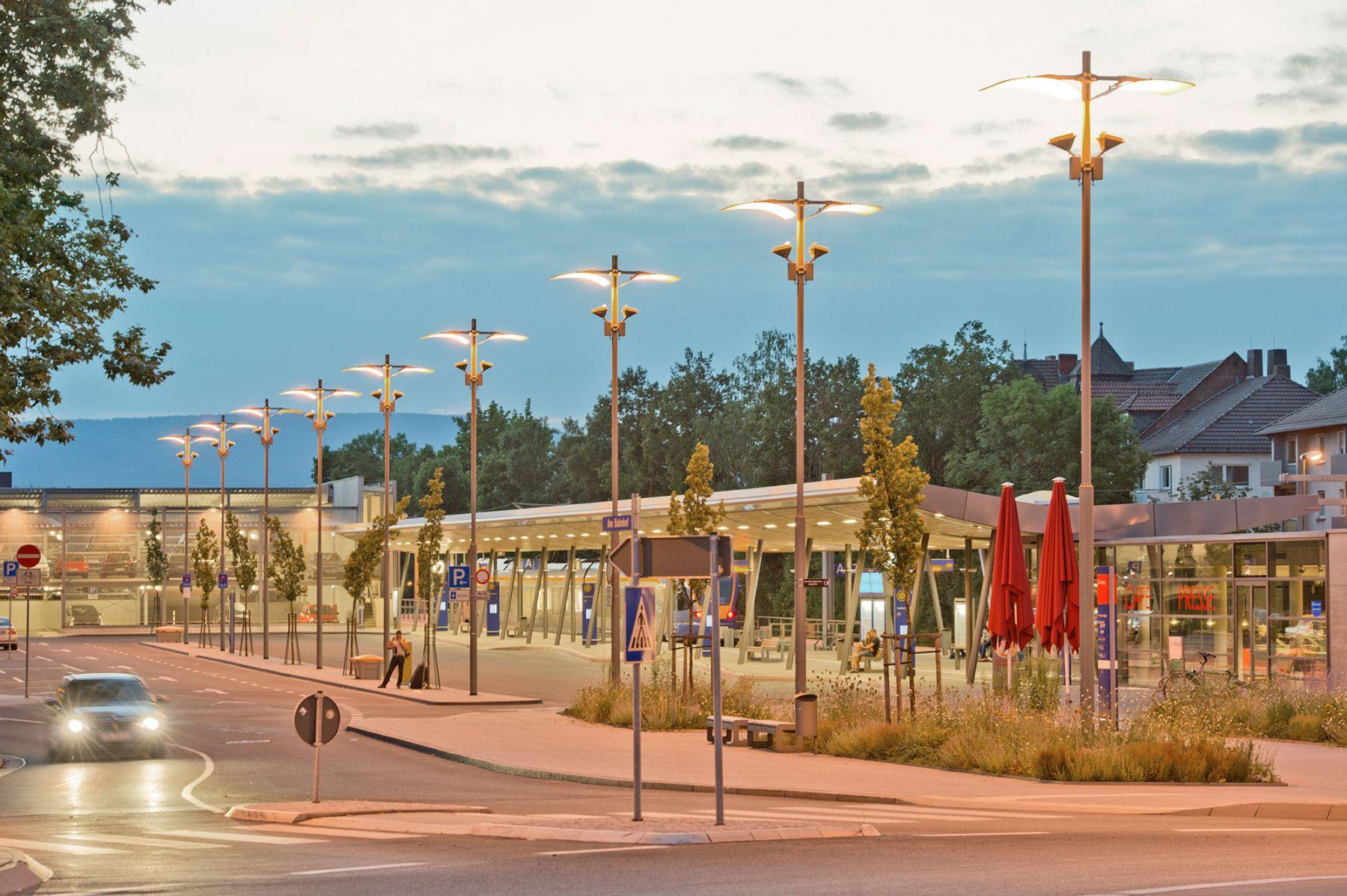 Neubau des Stadtbahnhofs in Eschwege