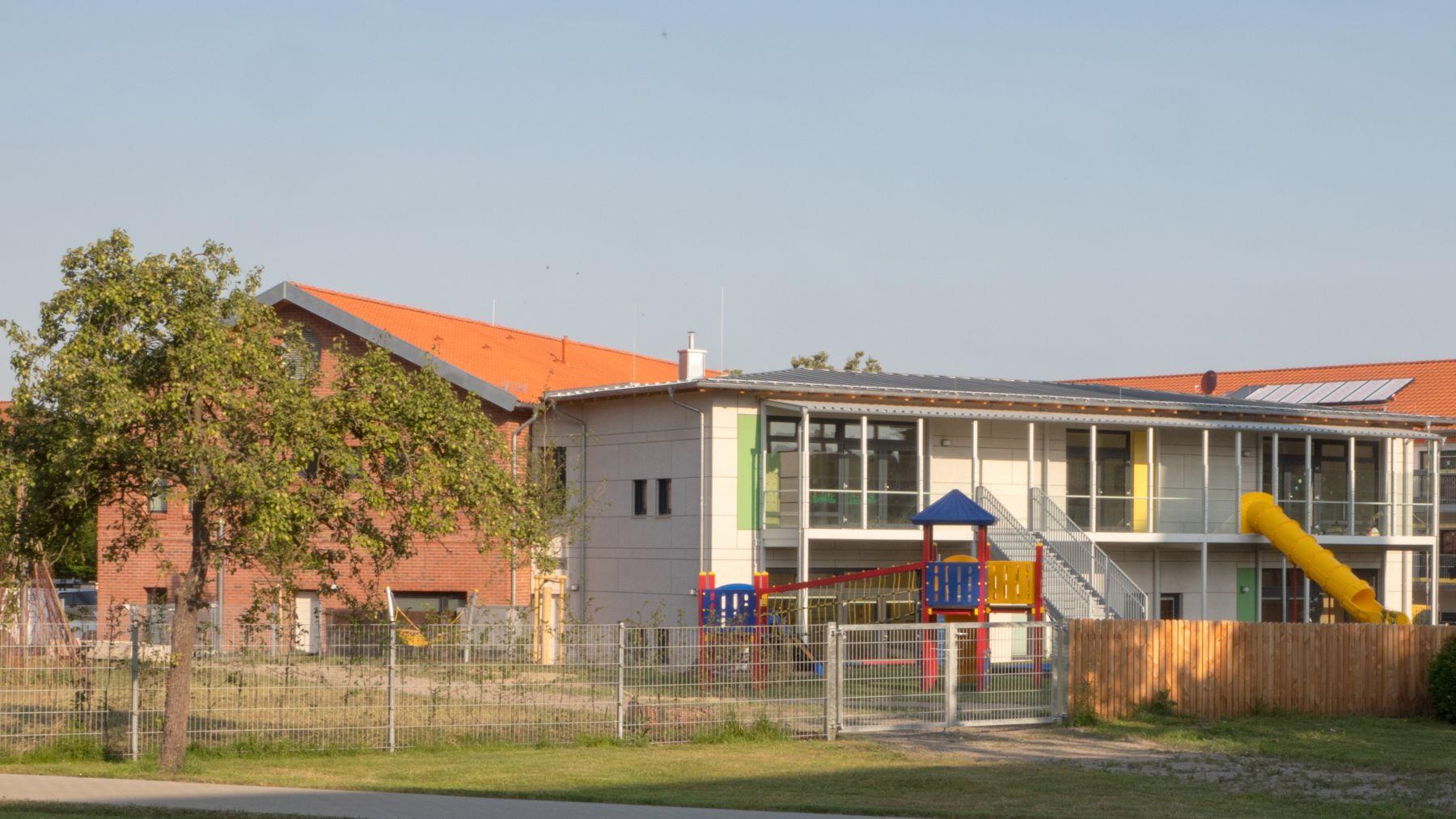 Neubau Kindergarten & Familienzentrum