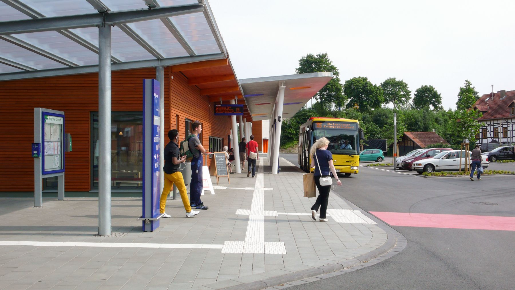 Neubau ÖV- Schnittstelle in Hofgeismar
