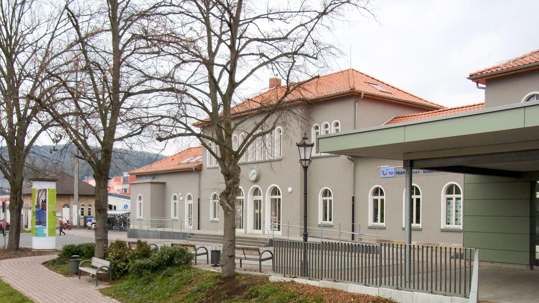 Umbau und Sanierung Bahnhofs- Empfangsgebäude in Rotenburg-Fulda